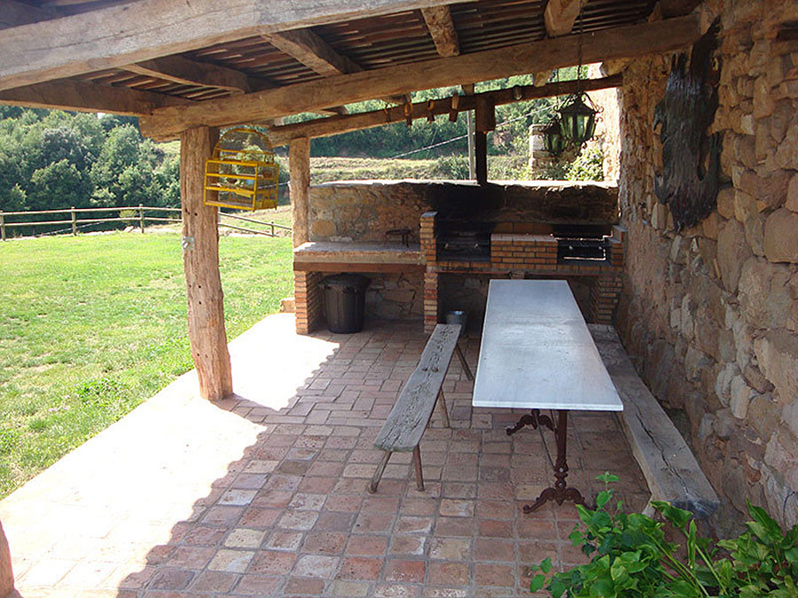 Barbacoa La Llar Casa Rural Familiar Moianès 8