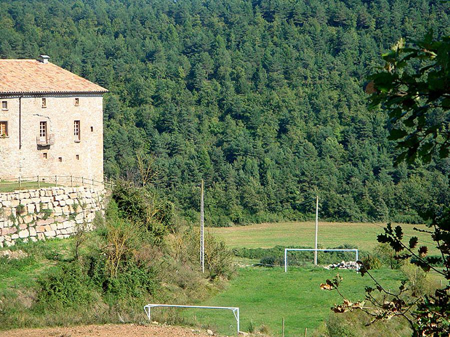 Camp de futbol Turisme Rural Familiar Moianès