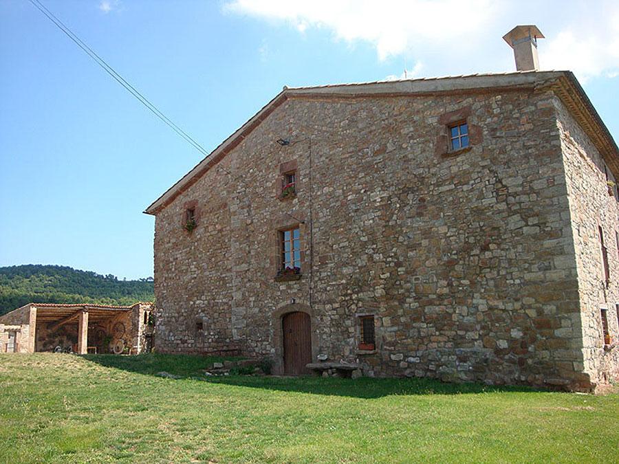 Exteriors Turisme Rural Familiar Moià