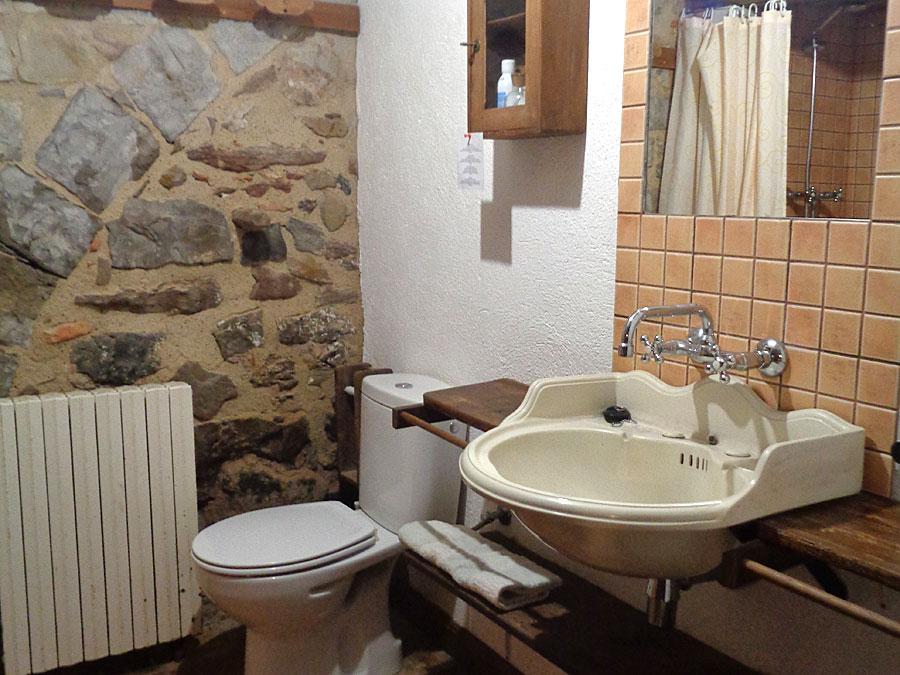 Bany La Llar Casa Rural Familiar Moianès 9